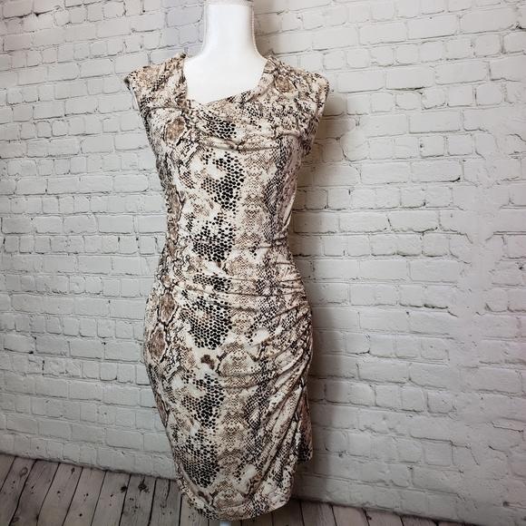 Mango Dresses & Skirts - Mango snake skin dress